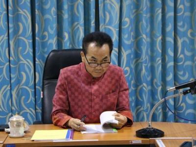 การประชุมคณะอนุกรรมการสวัสดิการ ข้าราชการและลูกจ้าง ประจำ สำนักงานเขตพื้นที่การศึกษาประถมศึกษาลพบุรี เขต 2  ชุดที่ 9 ครั้งที่ 2 / 2563