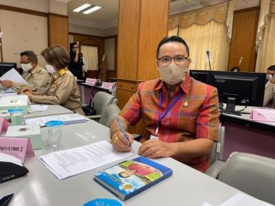นายจิมจง ทองคำวัน  รอง ผอ.สพป.ลพบุรี เขต 2  เข้าร่วมประชุมคณะกรรมการจังหวัด หัวหน้าส่วนราชการ หัวหน้า หน่วยงาน ฯลฯ ของจังหวัดลพบุรี ครั้งที่ 10/256