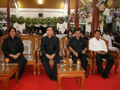 สพป.ลพบุรี เขต 2 ร่วมเป็นเจ้าภาพในงานสวดพระอภิธรรมศพท่านมานพ ษมาวิมล ผอ.สพป.ลพบุรี เขต 1