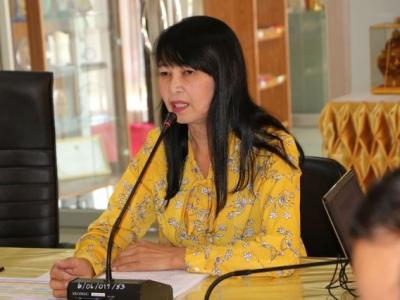 ประชุมคณะกรรมการการจัดงานศิลปหัตถกรรมนักเรียน ครั้งที่ 69 ประจำปีการศึกษา 2562 ครั้งที่ 1/2562