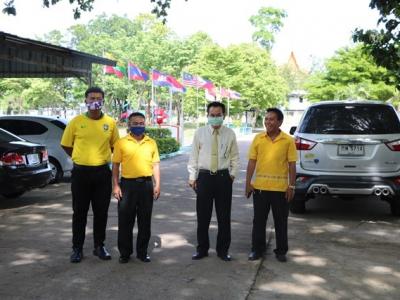 ดร.มโน ชุนดี ผอ.สพป.ลพบุรี เขต 2 พร้อมด้วยบุคลากรทางการศึกษา  ตรวจเยี่ยมโรงเรียนเพื่อให้กำลังใจแก่ผู้บริหารโรงเรียนและคณะครู และติดตามการดำเนินงาน การจัดการเรียนการสอนในสถานการณ์การแพร่ระบาดของเชื้อไวรัสโคโรนา2019
