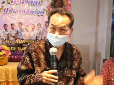 ดร.มโน ชุนดี ผอ.สพป.ลพบุรี เขต 2 เป็นประธานพิธีแสดงมุทิตาคารวะ พร้อมกล่าวอวยพรแสดงความยินดี กับผู้อำนวยการโรงเรียน ของกลุ่มโรงเรียนสุวรรณภูมิ