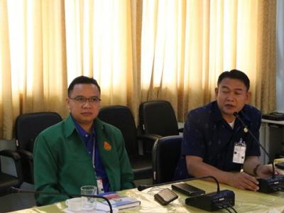 การประชุมทางไกลผ่านระบบ Video Conference  ครั้งที่ 39/2563 ระหว่าง สพท.และ สพฐ.