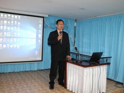 การประชุมเพื่อสรุป และให้คำแนะนำแนวทางในการปฏิบัติงานในหน้าที่ ตำแหน่งผู้อำนวยการสถานศึกษา